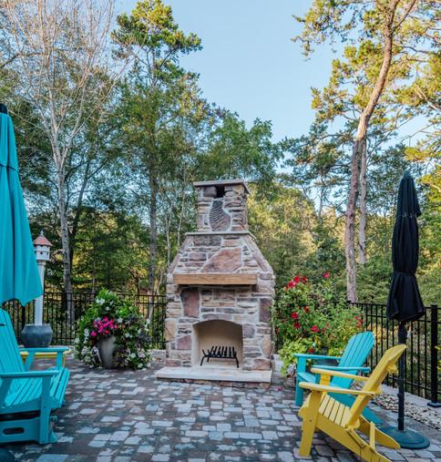 Cultured Stone Fireplace | Native Design & Hardscape