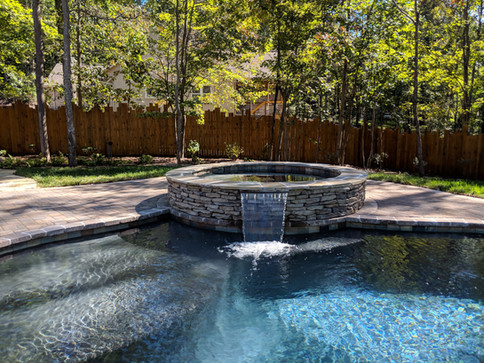 Cascading Water Feature   Native Design & Hardscape