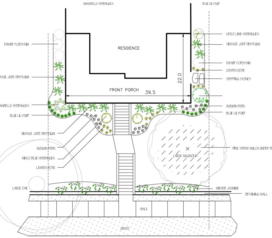Landscape Design   Native Design & Hardscape