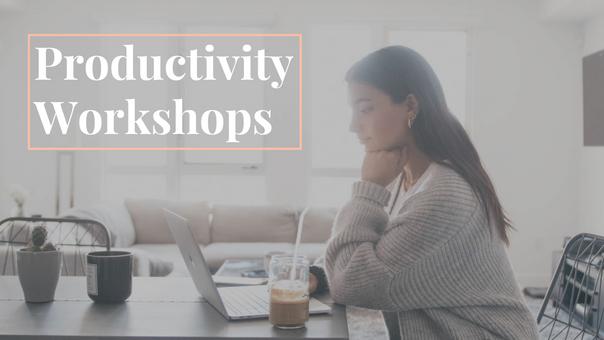 Productivity Workshops