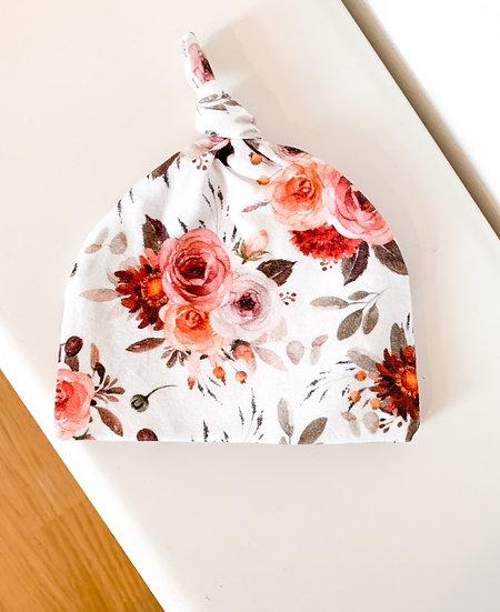 Bonnet - Vintage roses