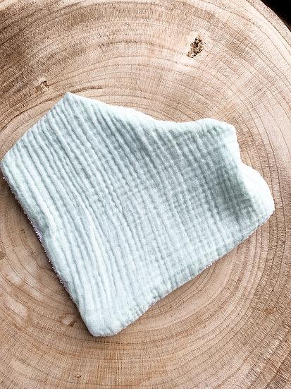 Bavoir - Gaze de coton Mint