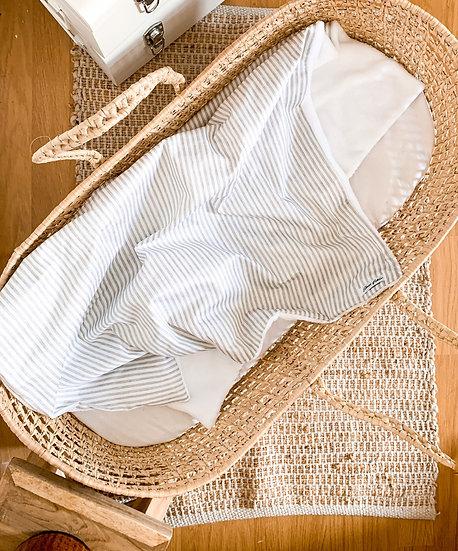 Couverture - Linen stripes