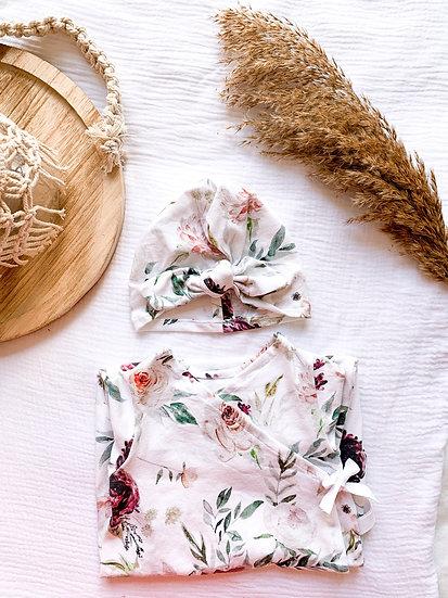 Turban - Velvet roses