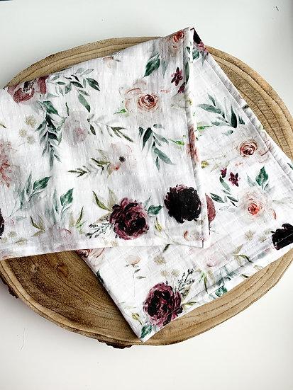 Lange biologique - Velvet roses