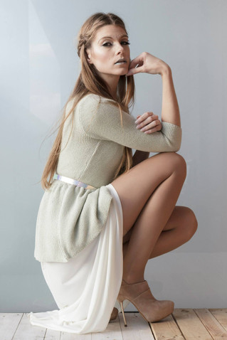 CREATIVE DIRECTOR: Star Cardona MODELS: Silvia PHOTOGRAPH: Alex De Frutos PHOTOGRAPHER ASSITANT: James Fontaine FASHION & MAKE-UP STYLIST: Star Cardona