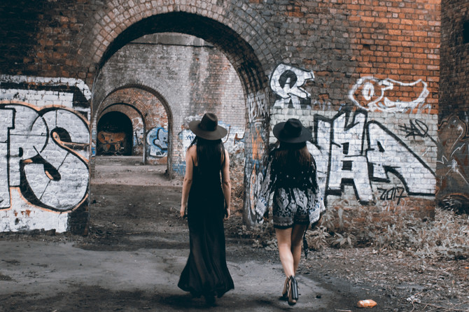 CREATIVE DIRECTOR: Star Cardona MODELS: Vanessa Oliveros and Laura Robles PHOTOGRAPHER/FASHION STYLIST & MAKE-UP ARTIST: Star Cardona