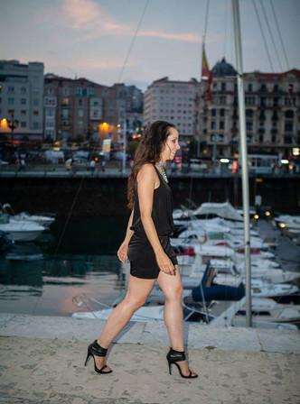 CREATIVE DIRECTOR: Star Cardona MODELS: Audrey Bichon LOCATION: Santander, Spain PHOTOGRAPHER: Fernando Salas FASHION STYLIST & MAKE-UP ARTIST: Star Cardona