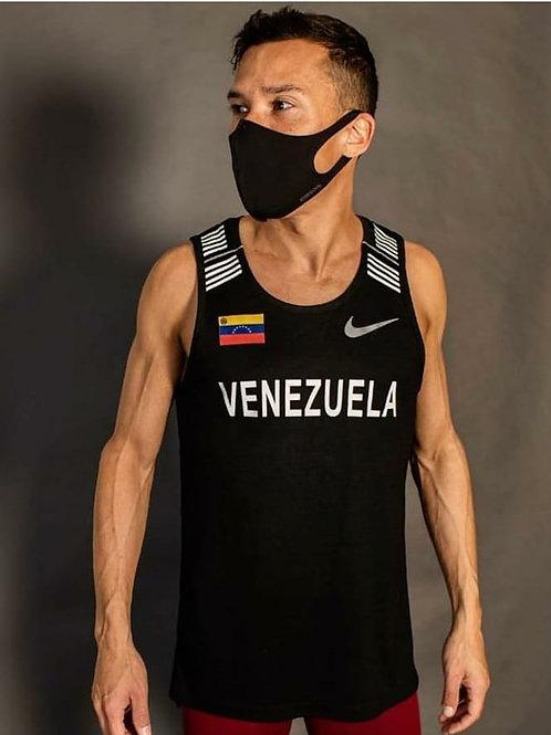 Official Venezuelan Black Nike Race Singlet