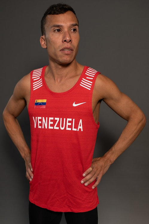 Official Venezuelan RED Nike Race Singlet