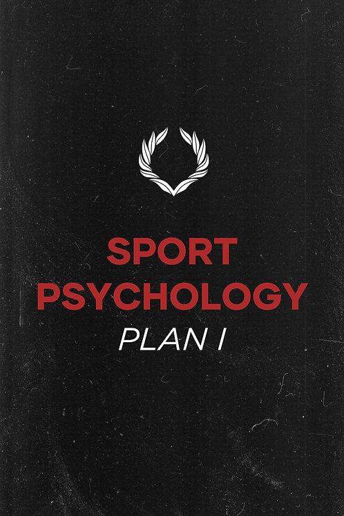 Sport Psychology Plan 1 – $100
