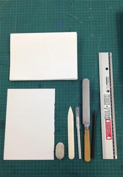 Book binding tools