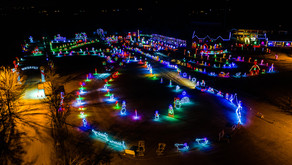 Skylands Christmas Light Show and Village