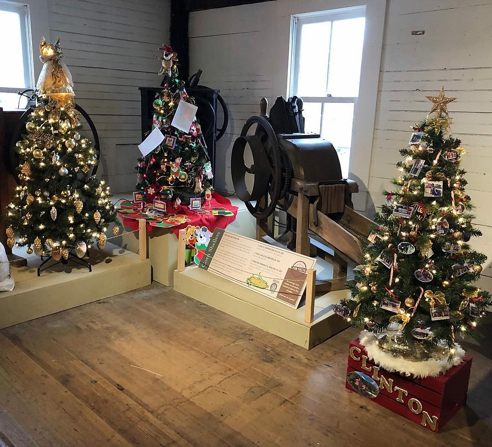 Festival of Trees Clinton Red Mill