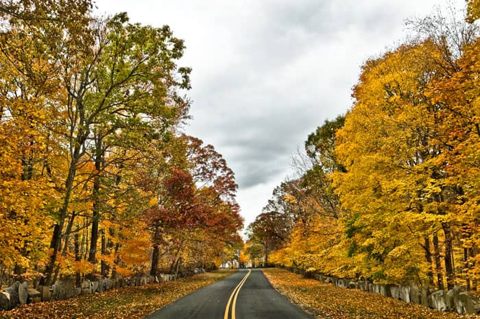 Palisades Scenic Byway Fall Drive