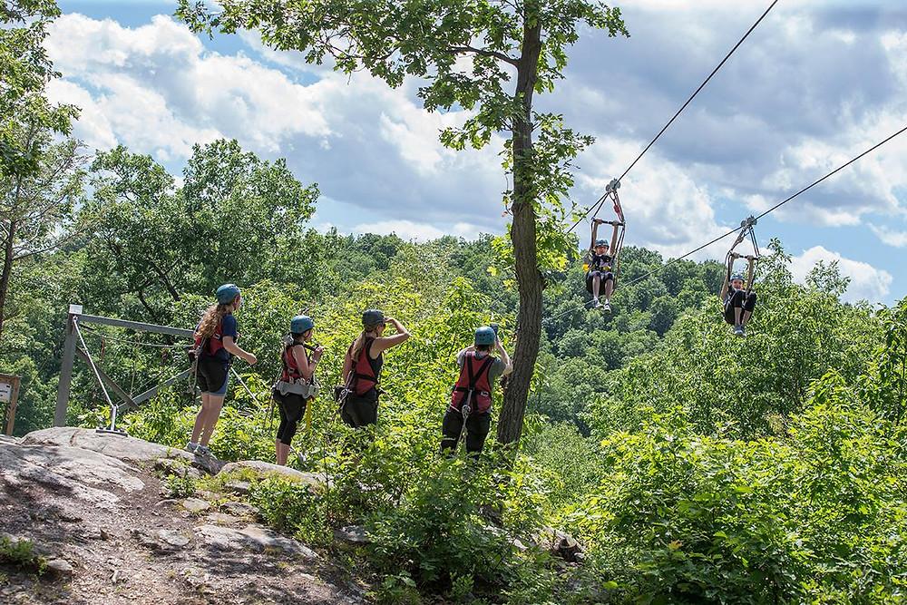 New Jersey Zip-line adventure