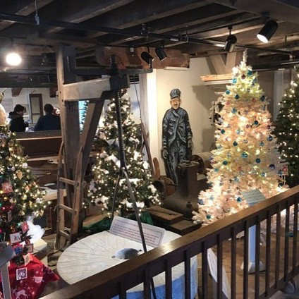 Festival of Trees at the clinton redmill