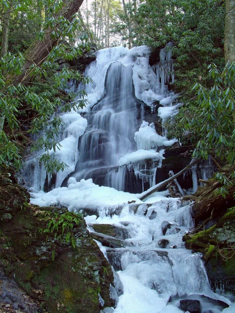 Silver Spray Falls - New Jersey Hidden Hike Near Butter Milk Falls.