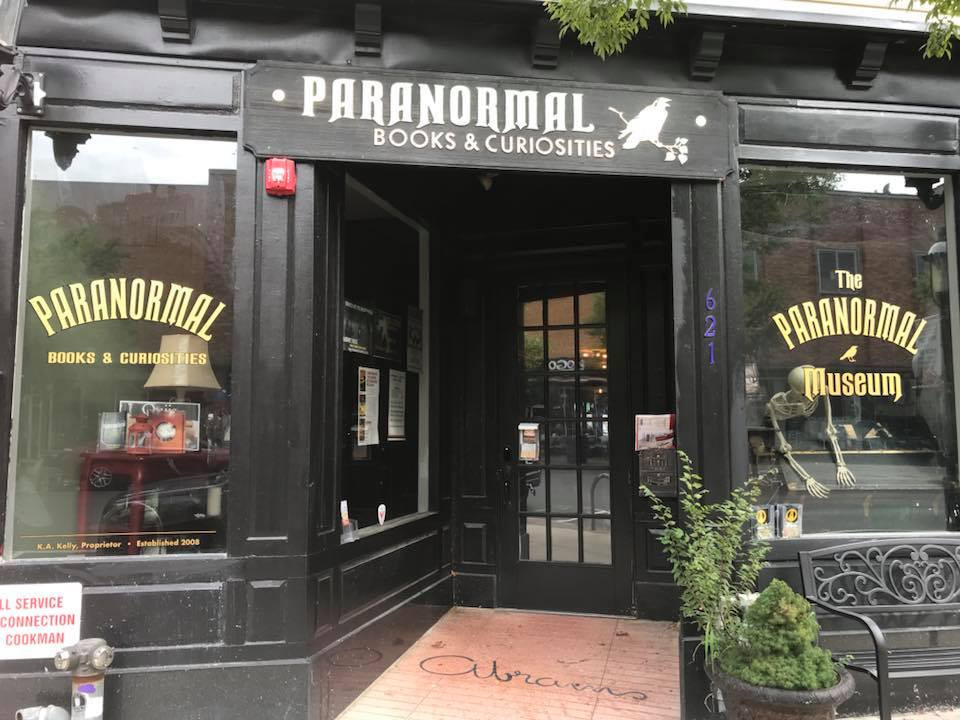 Haunted New Jersey - Paranormal Books and curiosities Asbury Park