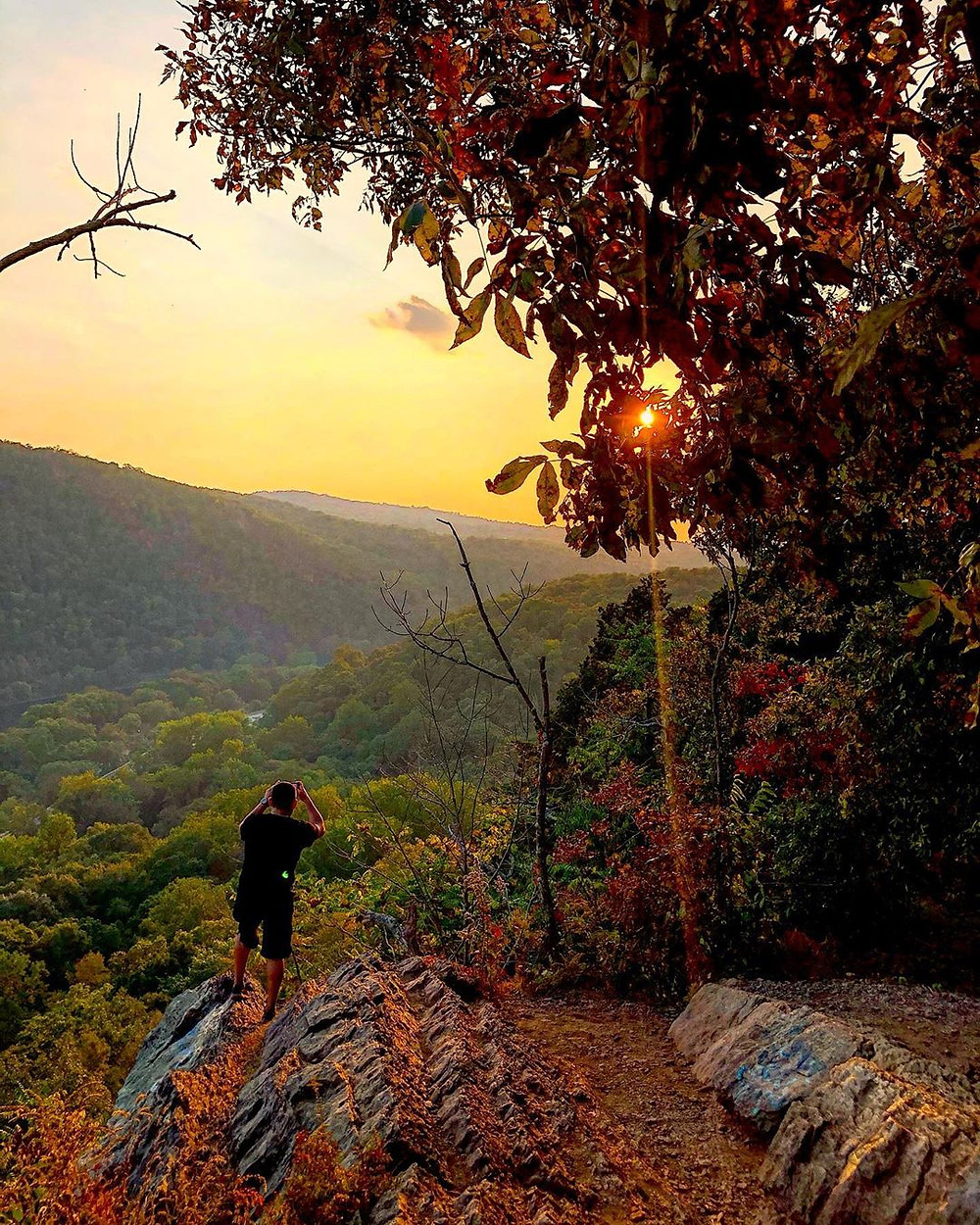 Mount Tammany Hike, The best hike in new jersey