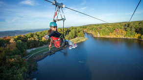 Zoom Through The Luscious New Jersey Fall Foliage on This Thrilling Zip-line Tour