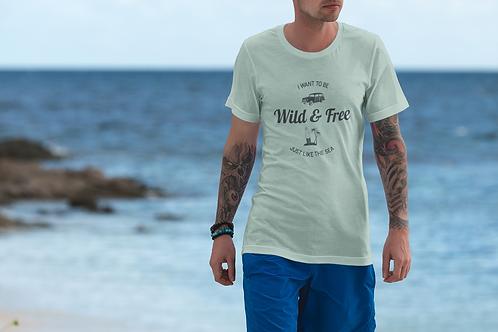 Wild & Free Jersey Shore Short-Sleeve Mens T-Shirt