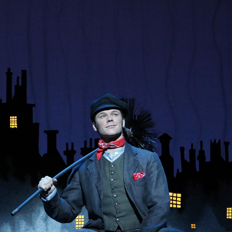 Bert in Mary Poppins