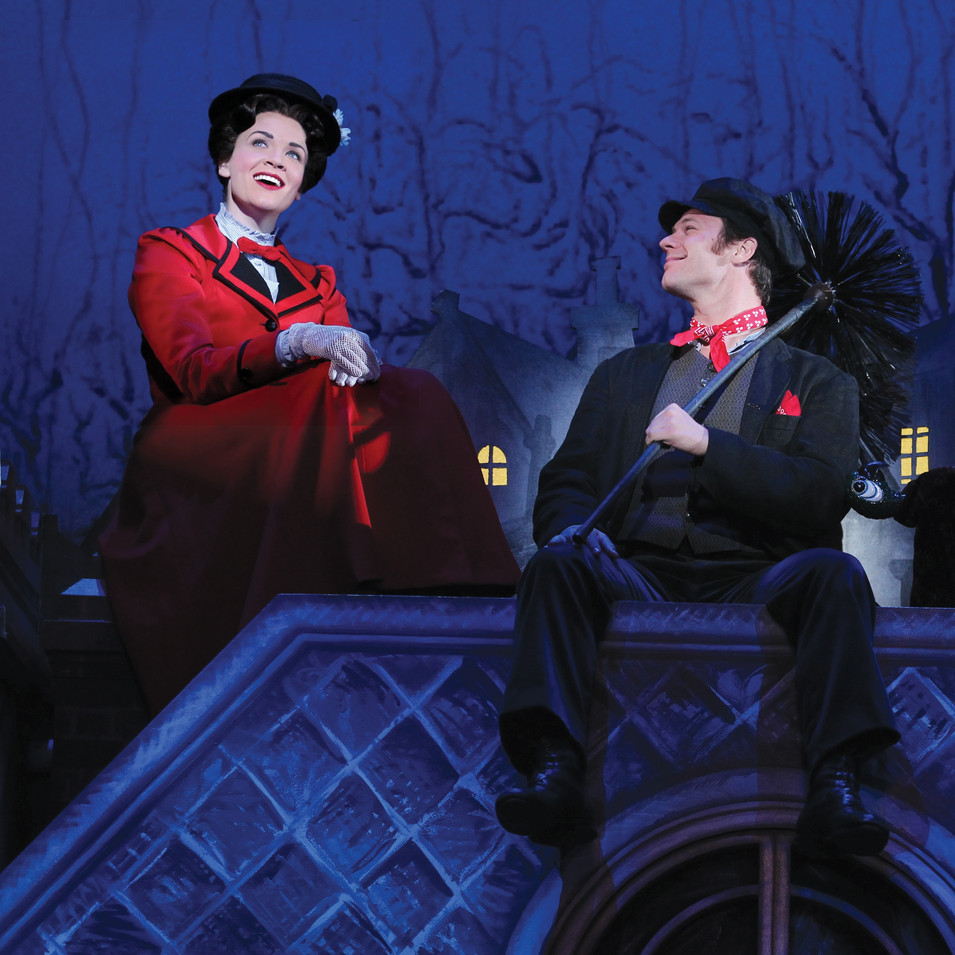 Bert in Mary Poppins National Tour