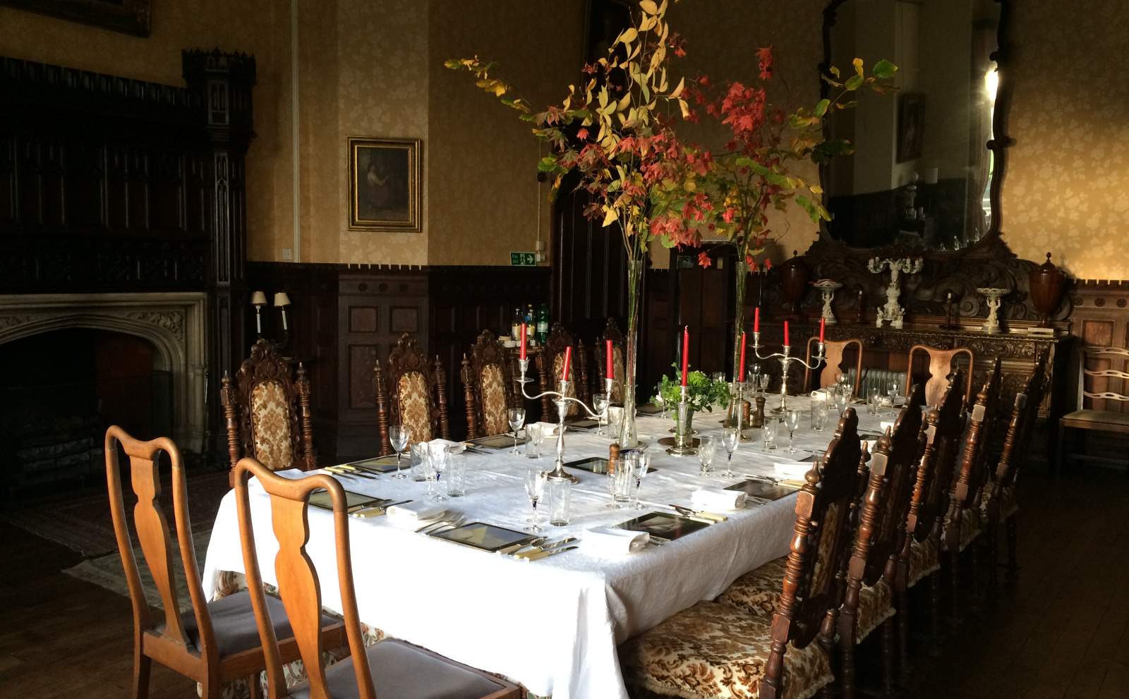 Special Occasions in Dining Room