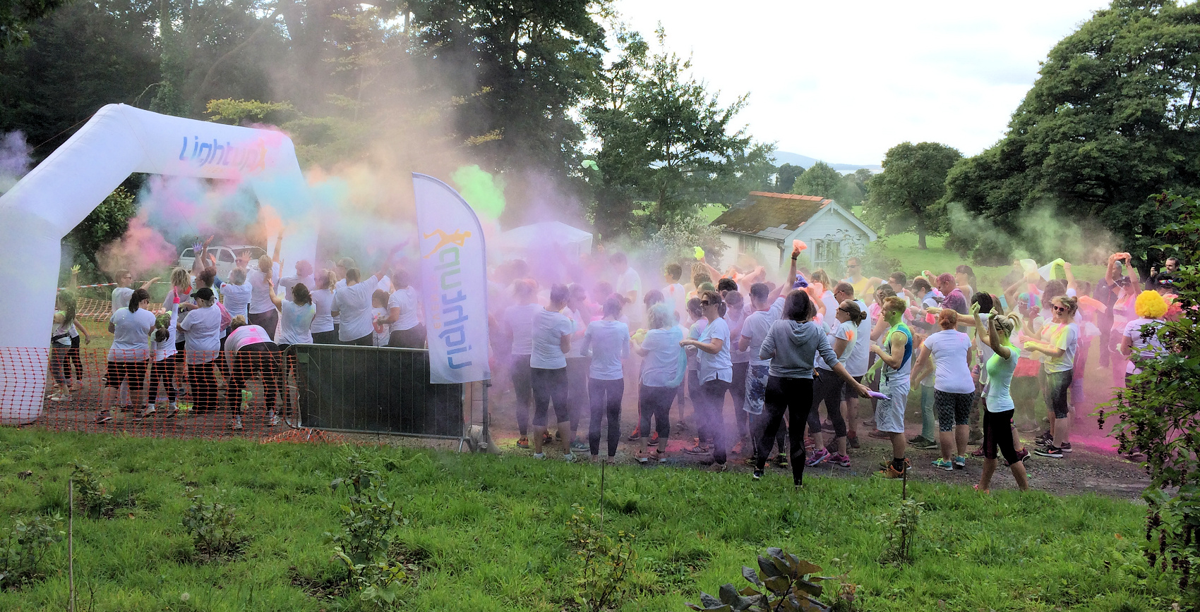 5Km 'Colour Splash' run