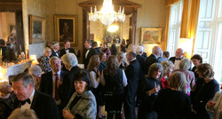 Party in Drawing Room at Stradey