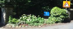 Stradey entrance sign