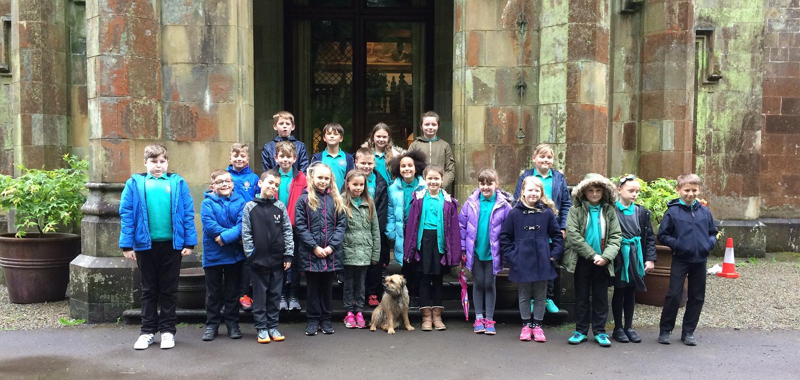 School tour at Stradey