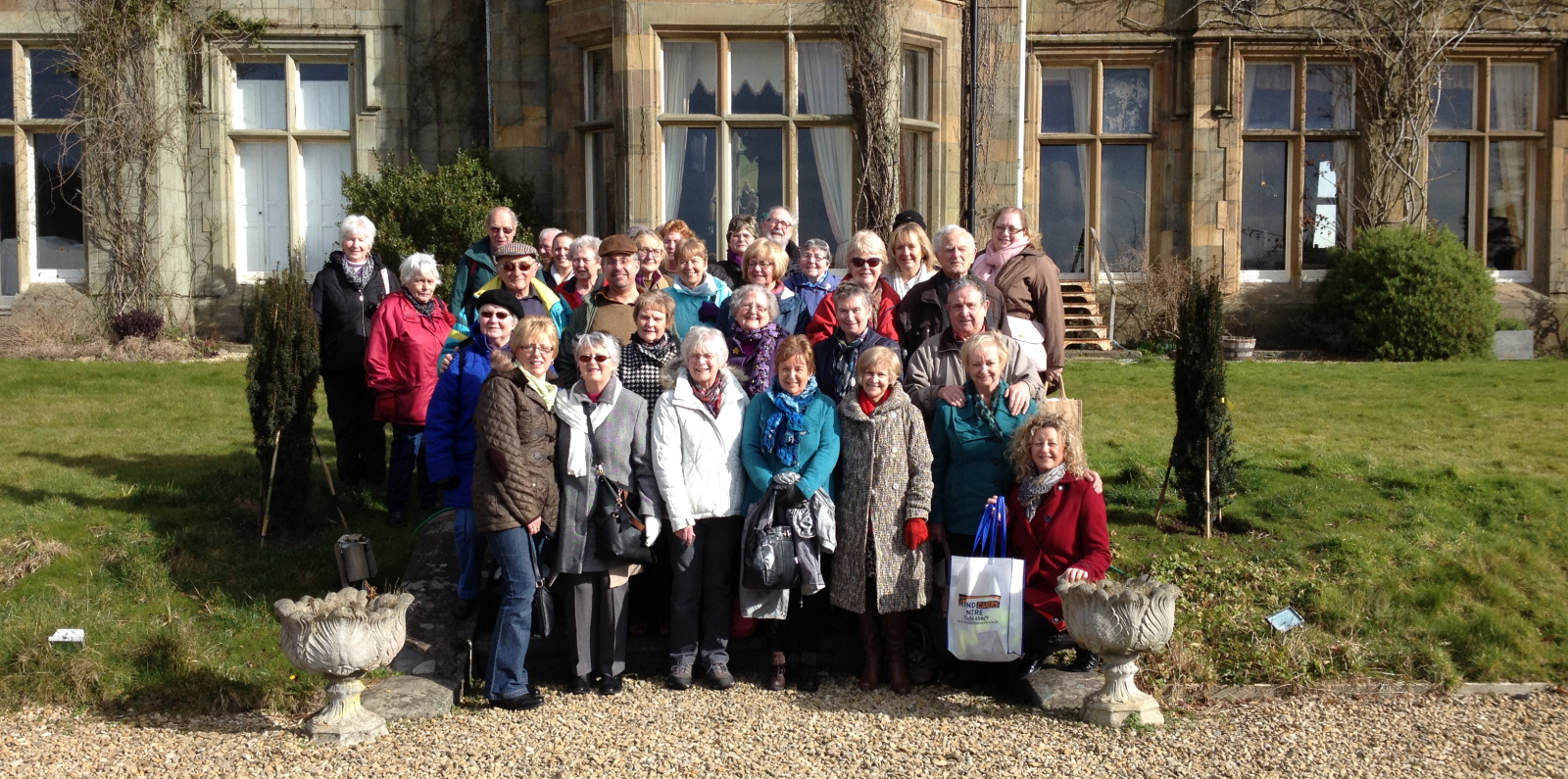 Private tour at Stradey Castle