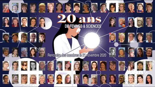FILM 20 ans de l'association Femmes & Sciences