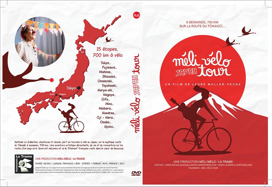 jaquette DVD film Méli Vélo Japan Tour.p