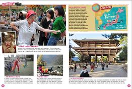 Méli Vélo Japan Tour. Article Géo ados-