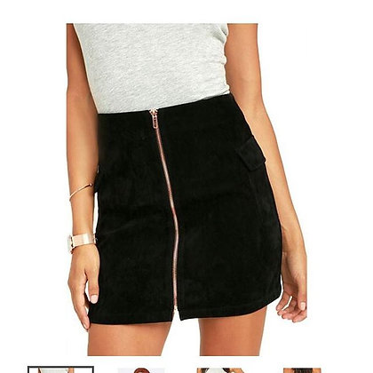MP Suede A Line Skirt