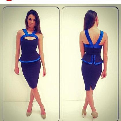 Alexia Navy Dress
