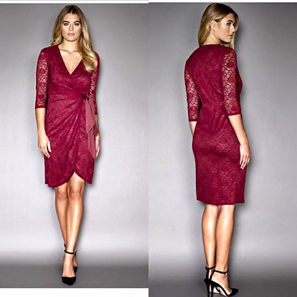 Taylor Wrap Dress