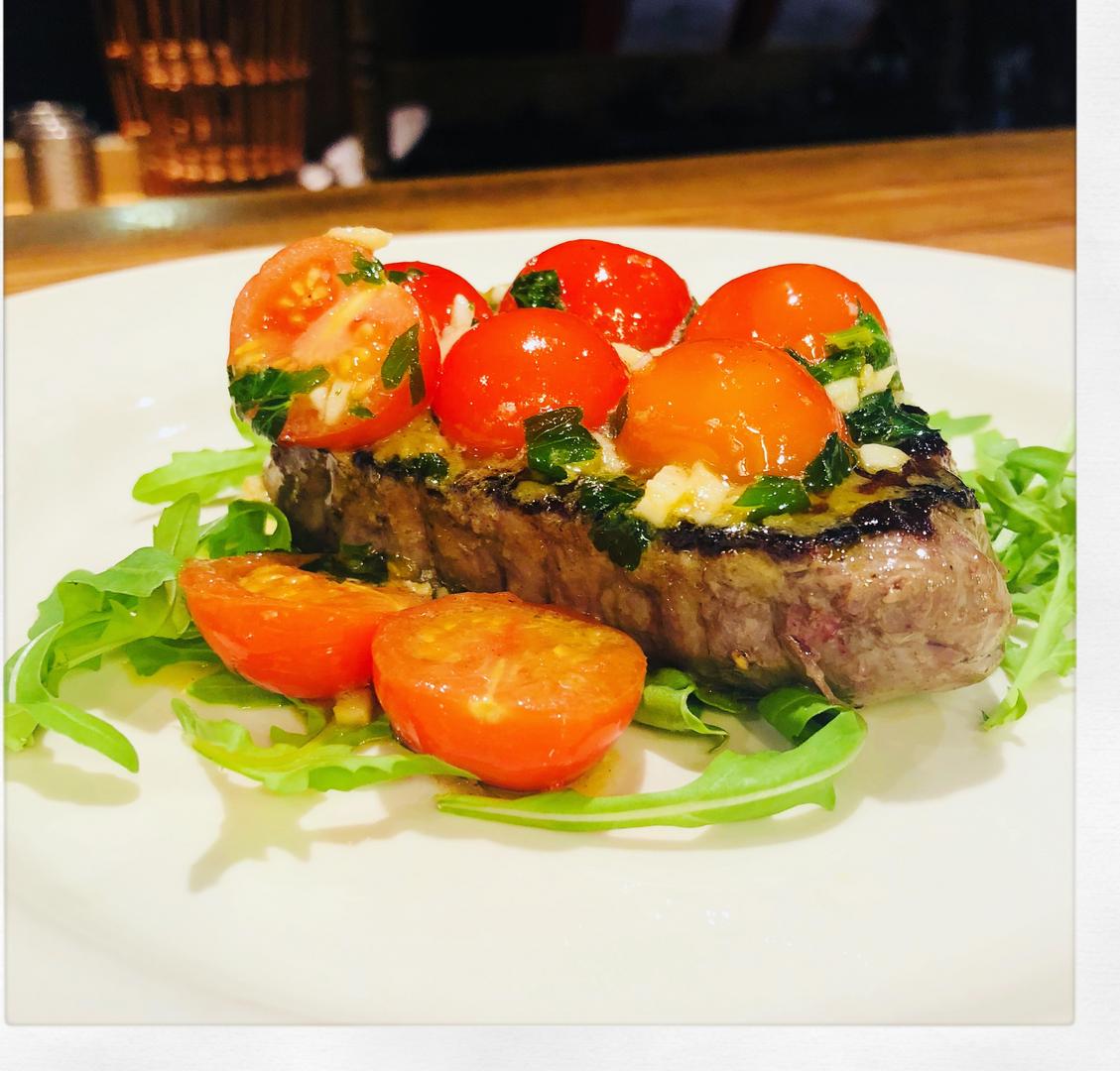 bistecca e pomodori