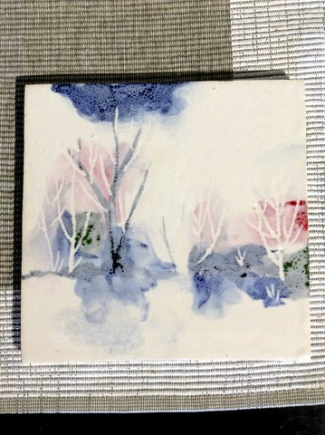 Winter tile Leanna Carlson Pottery Ceramic Hand Painted Clay-003