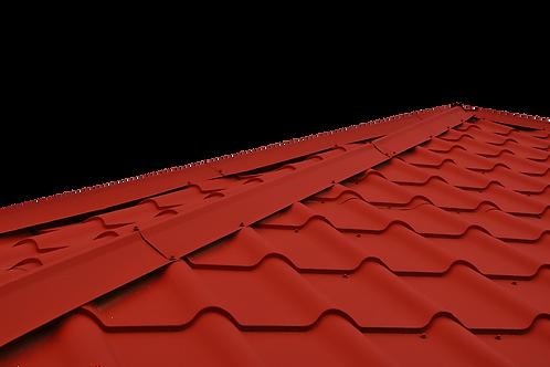 Профнастил с полимер. покрытием МП20, 0,4 мм, руб/кв.м