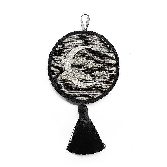 Crescent Moon Hanging Ornament