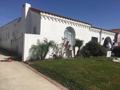 Residential Exterior painting preparation