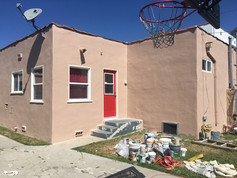 Residential  back Exterior house Painting