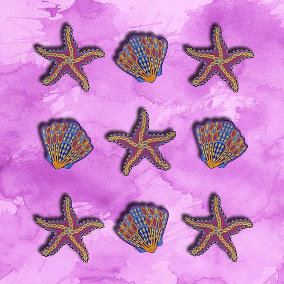 Sea Shells & Starfish no.1