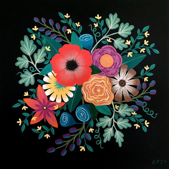 SOLD - Summer Blooms no.1 Original Sold