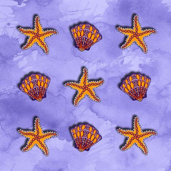 Sea Shells & Starfish no.2