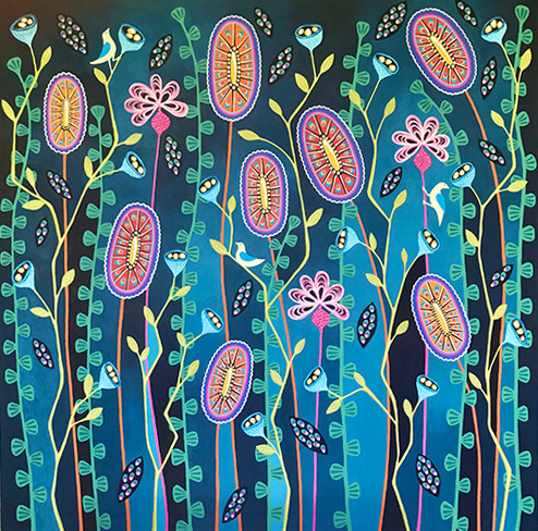 Blooming Delightful - SOLD